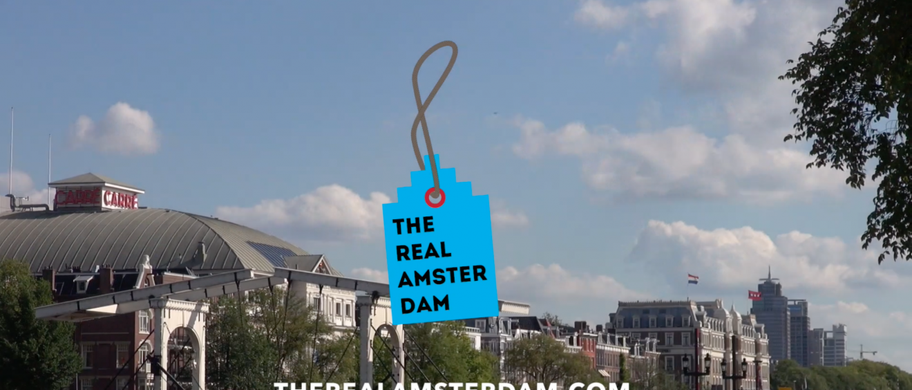 Concept en video The Real Amsterdam | Weerspiegeling